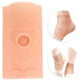 Silikonski steznik za skočni zglob sa magnetima