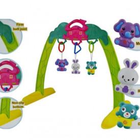 Viseće igračke za bebe na prenosivom ramu