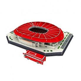 Wanda Metropolitano 3D Puzzle stadion FK Atletico Madrid