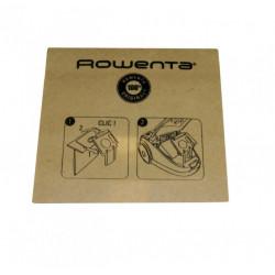 Sac aspirator Rowenta, Original