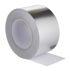 Banda adeziva aluminiu 10 m x 50 mm