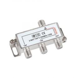 Spliter 3-IESIRI SPLITTER MINI 5-2450MHZ 3XDC PASS