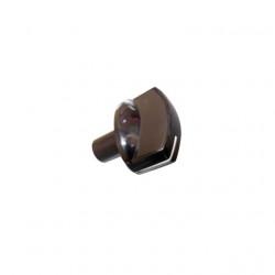 Buton aragaz Beko CG61110GX, CG 61110 GX include buton, arc si decor negru