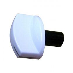 Buton aragaz Arctic, include buton, arc si decor alb