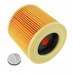 Cartus filtru pentru aspiratoarele KARCHER WD2, WD3, SE4001, SE4002, MW2, MW3, A22xx, A24xx