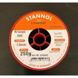FLUDOR 1,0MM 250G STANNOL