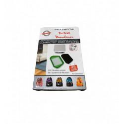 Filtru Hepa ZR005501 pentru aspirator Rowenta Compacteo Ergo Cyclonic + filtru de spuma lavabil + microfiltru