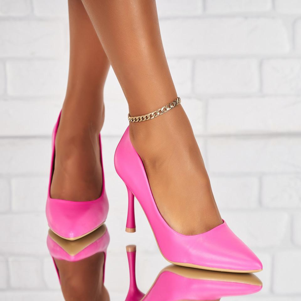 Női Stiletto cipők Ökológiai bőr Fukszia Harlyn X6255