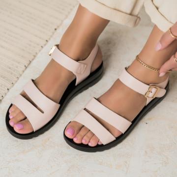 Sarok nélküli női szandálok Ökológiai bőr Rózsaszín Maizy2 X2844