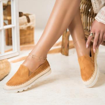 Női spárgatalpú cipők Fordított műbőr Teve Sophia X2741
