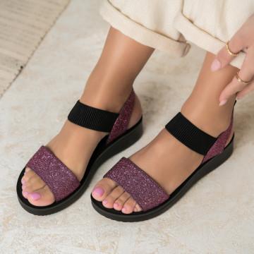 Sarok nélküli női szandálok Ökológiai bőr Rózsaszín Fayola X2798