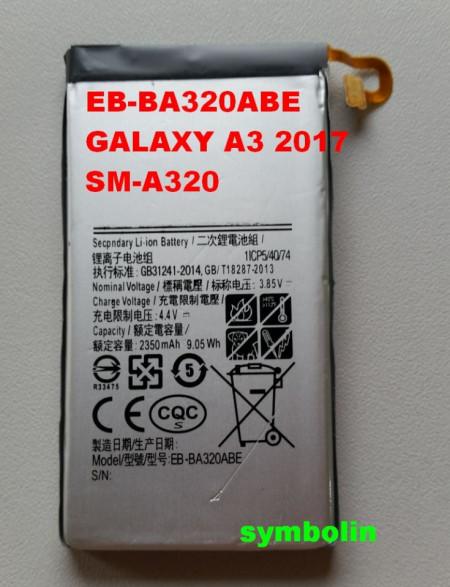 Baterija EB-BA320ABE za GALAXY A3 2017 SM-A320