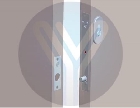 Elektromagnetna reza sa cilindrom YLI YB-500C (LED)
