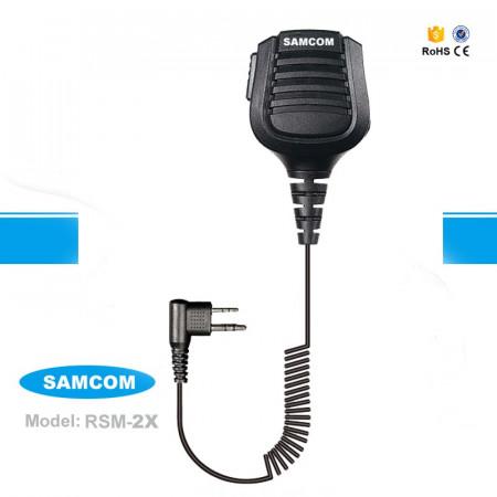 Mikrofon sa zvučnikom Samcom RSM-2X za SAMCOM CP-446, CP-446D, CP-500 Motorola 2PIN konektor