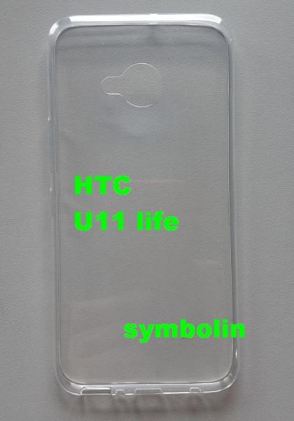 "Silikonska maska TPU 0,3 mm ultra tanka za HTC U11 Life 2017 (5.2"") providna"