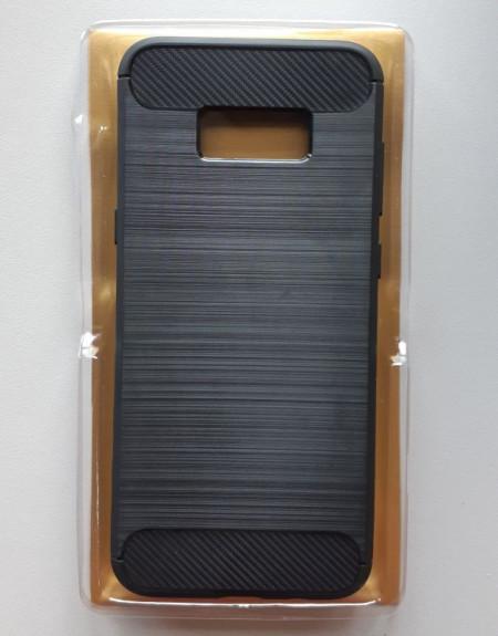 TPU maska BRUSHED za SM-N950F Galaxy Note 8, crna