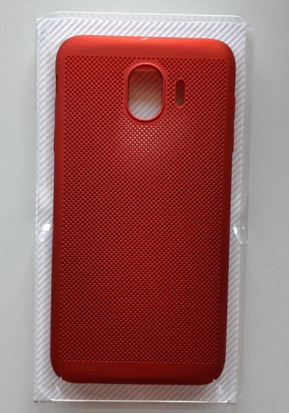 TPU/PC BREATH maska za SM-J400F Galaxy J4 2018, crvena