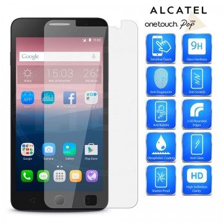 "Zaštitno Kaljeno staklo Tempered Glas za Alcatel Pop Star 3G (5"") 2015, OT-5022X"