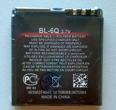 Baterija BL-6Q za Nokia 6700 Classic