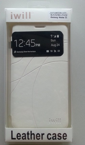 Futrola preklopna s prozorčićem za Galaxy N9000 Note 3 DSN307