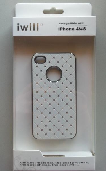 maska s cirkonima za iPhone 4, iPhone 4S DIP486