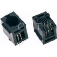 Mikroutičnica 6P4C PCB (za štampanu ploču) top entry - pak. 10 kom