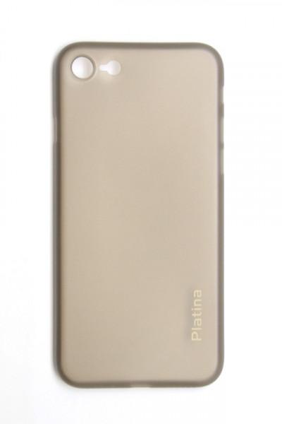 Silikonska maska za iPhone 6 4,7 Platina providna siva