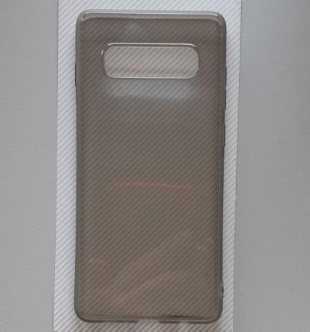 """TPU 0.3MM ultra tanka maska za Samsung SM-G975F, Galaxy S10 Plus 2019 (6.4""""), smoke"""
