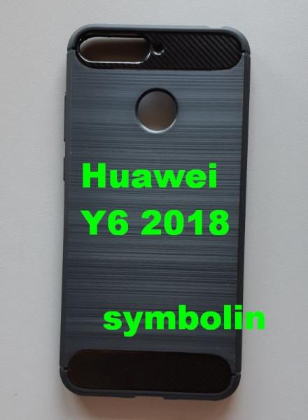 TPU BRUSHED maska za Huawei Y6 2018, Honor 7A, Y6 Prime 2018,  black