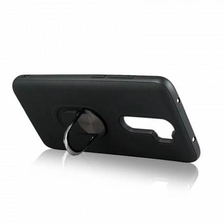 """TPU Magnet RING maska za Huawei Huawei Nova 5T, Honor 20 2019 (6.26"""") crna"""