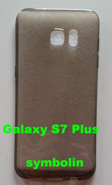 TPU maska 0,3mm za SM-G938 GALAXY S7 PLUS  providna boje dima
