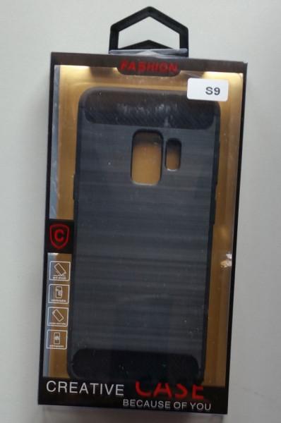 TPU maska BRUSHED za SM-G960F GALAXY S9 BLACK