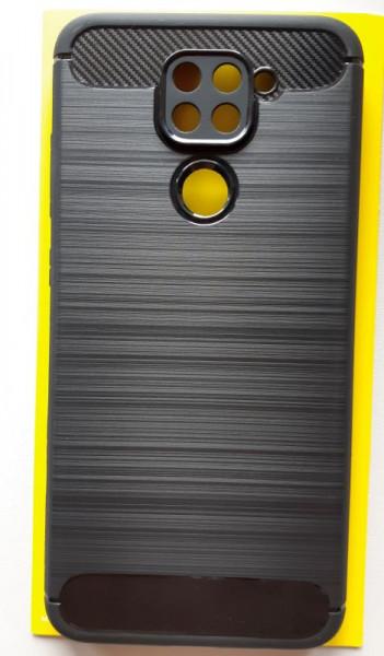 """TPU maska BRUSHED za Xiaomi Redmi Note 9 2020 (6.53"""") crna"""