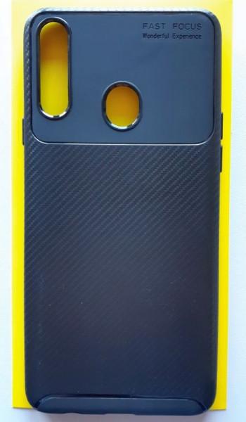 """TPU maska CARBON za Samsung SM-A207F Galaxy A20S 2019 (6.5"""") crna"""