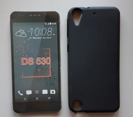 """TPU Pudding maska za HTC Desire 530, Desire 626, Desire 630 (5.0"""") 2016, crna"""