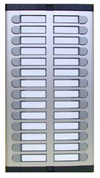 Ugradna tastatura URMET 925/028 sa 28 tastera u 2 kolone bez mesta za mikrozvučnu jedinicu