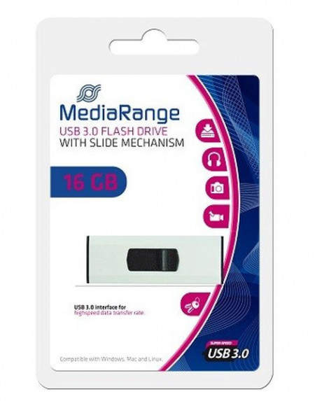 USB flash 3.0 Mediarange MR915 16GB