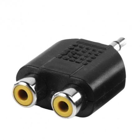 Audio adapter 3,5mm muški na 2xRCA AC17