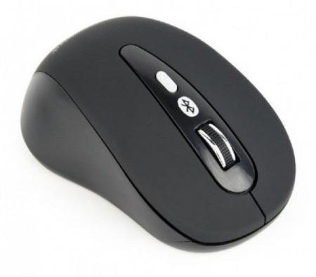 Bežični miš BLUETOOTH optički USB 800-1600Dpi black GEMBIRD MUSWB-6B-01