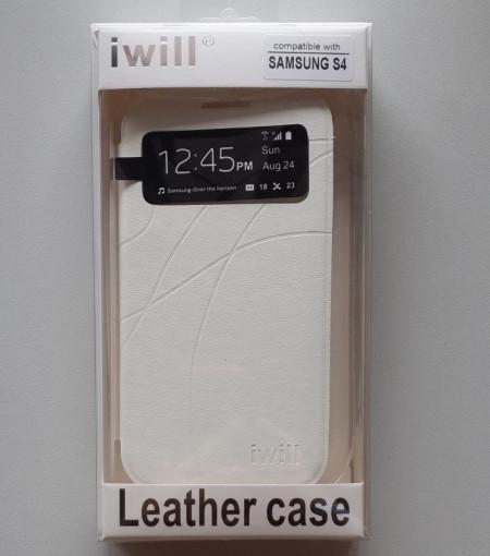 Futrola preklopna s prozorčićem za Samsung i9500 Galaxy S4 DSS431