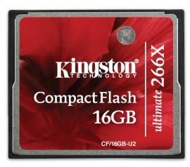 Slika KINGSTON CompactFlash Ultimate 266x memorijska kartica 16 GB