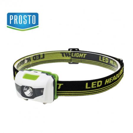 LED naglavna lampa 3W 1+ 2 LED Prosto NL5306 (svetlo 80l)
