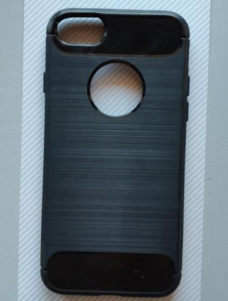 """Maska BRUSHED za iPhone 7, iPhone 8 (4.7"""") crna"""