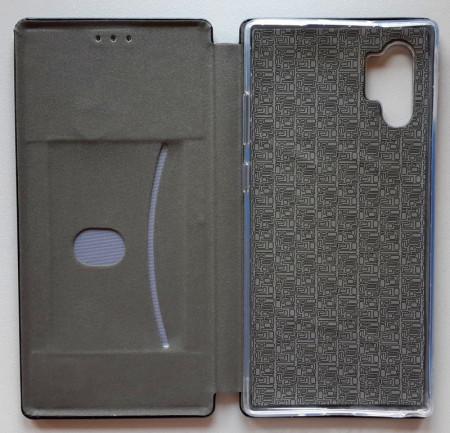"Preklopna futrola LEATHER za Samsung SM-N975F, Galaxy Note 10 Pro 2019 (6.8"") crna"