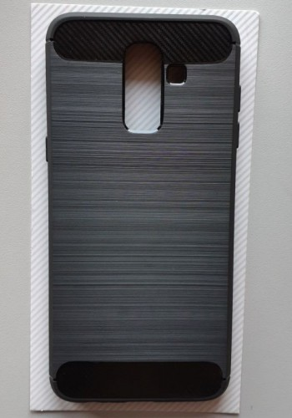 TPU BRUSHED maska za Galaxy SM-J810F, Galaxy J8 2018, crna