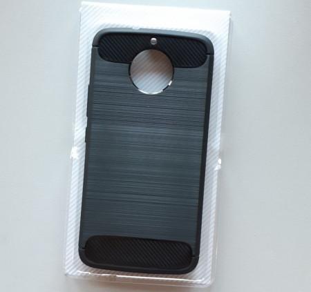 TPU maska BRUSHED za Motorola Moto G6, crna