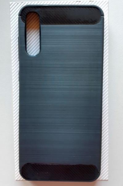 """TPU maska BRUSHED za Samsung SM-A705F Galaxy A70 2019 (6.7"""") crna"""