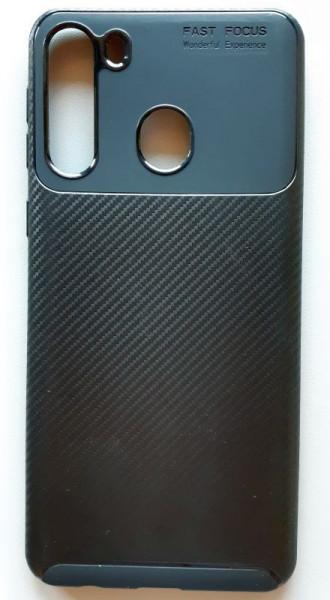 """TPU maska CARBON za Samsung SM-A215F, Galaxy A21 2020 (6.5"""") crna"""