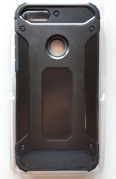 """TPU maska DEFENDER za Huawei P smart 2018, Enjoy 7S (5.65"""") crna"""