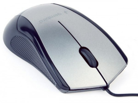 USB Opticki miš Gembird MUS-3B-02-BG, 1000Dpi 3-button black/space USB